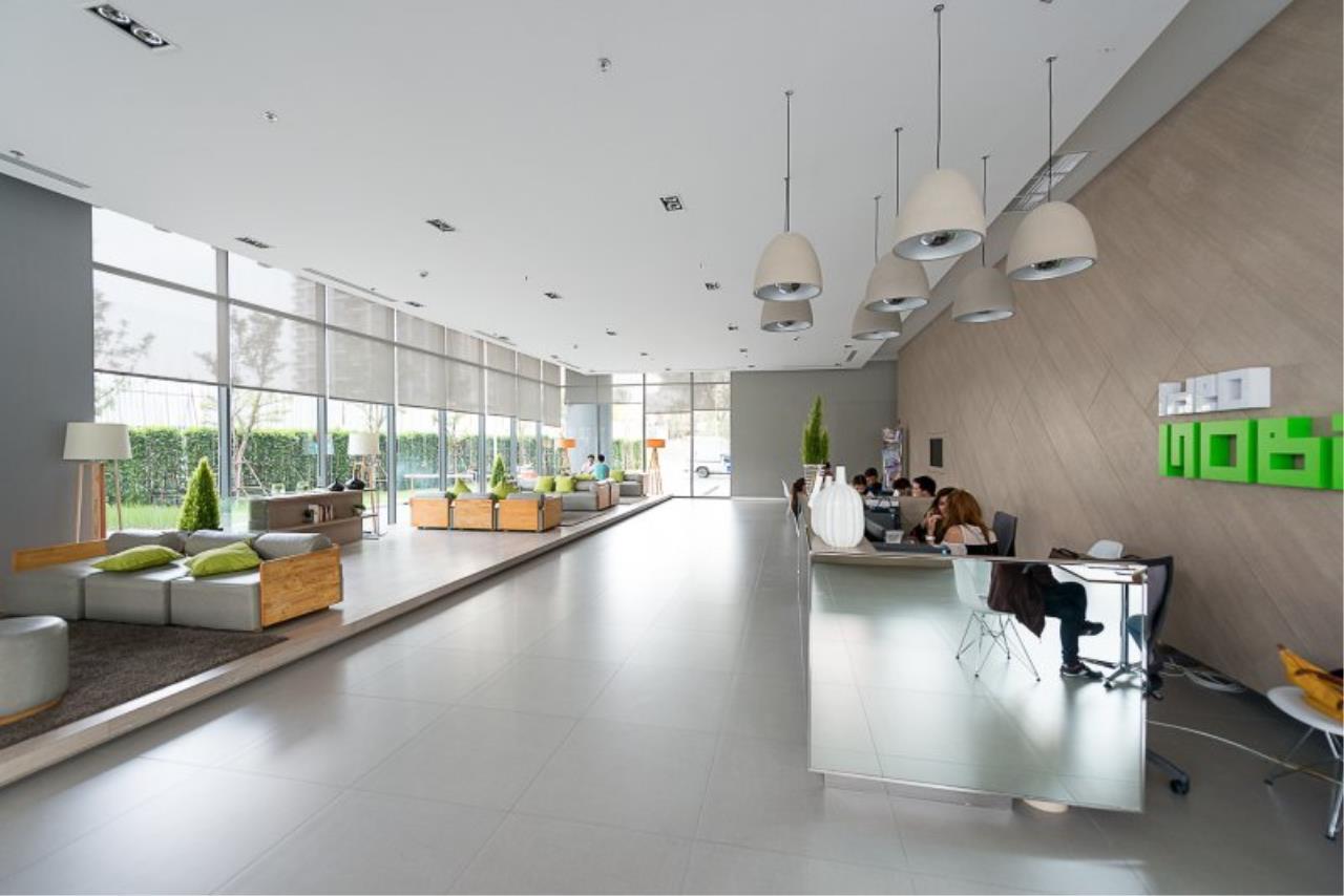 Piri Property Agency's Cozy 1 Bedroom in the IDEO Mobi Rama 9 Bulding for rent on low floor 9