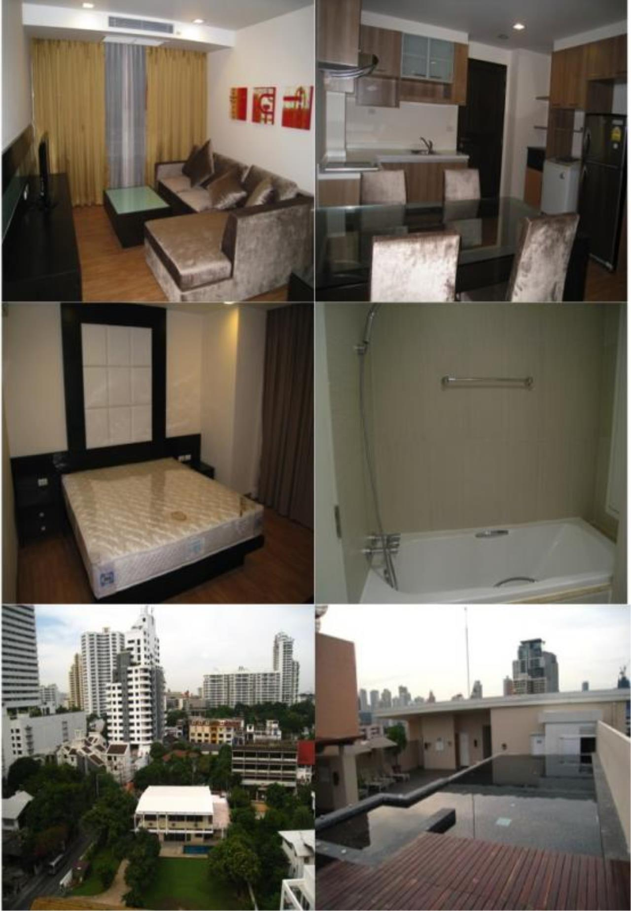 Piri Property Agency's 2 bedrooms Condo For Rent Alcove Sukhumvit 49 1