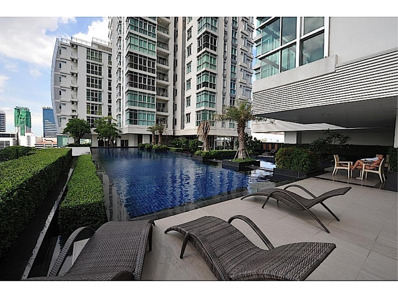 Piri Property Agency's Modern fully furnished two bedroom unit - Nusasiri Grand Condo 10