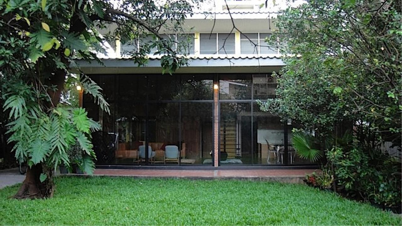 Piri Property Agency's House with Big Garden in Soi Yenakart 14