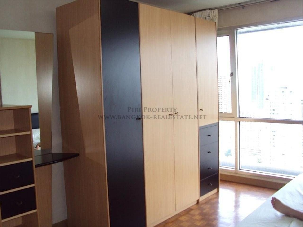 Piri Property Agency's Sukhumvit Suites - High Floor Studio with great View 5