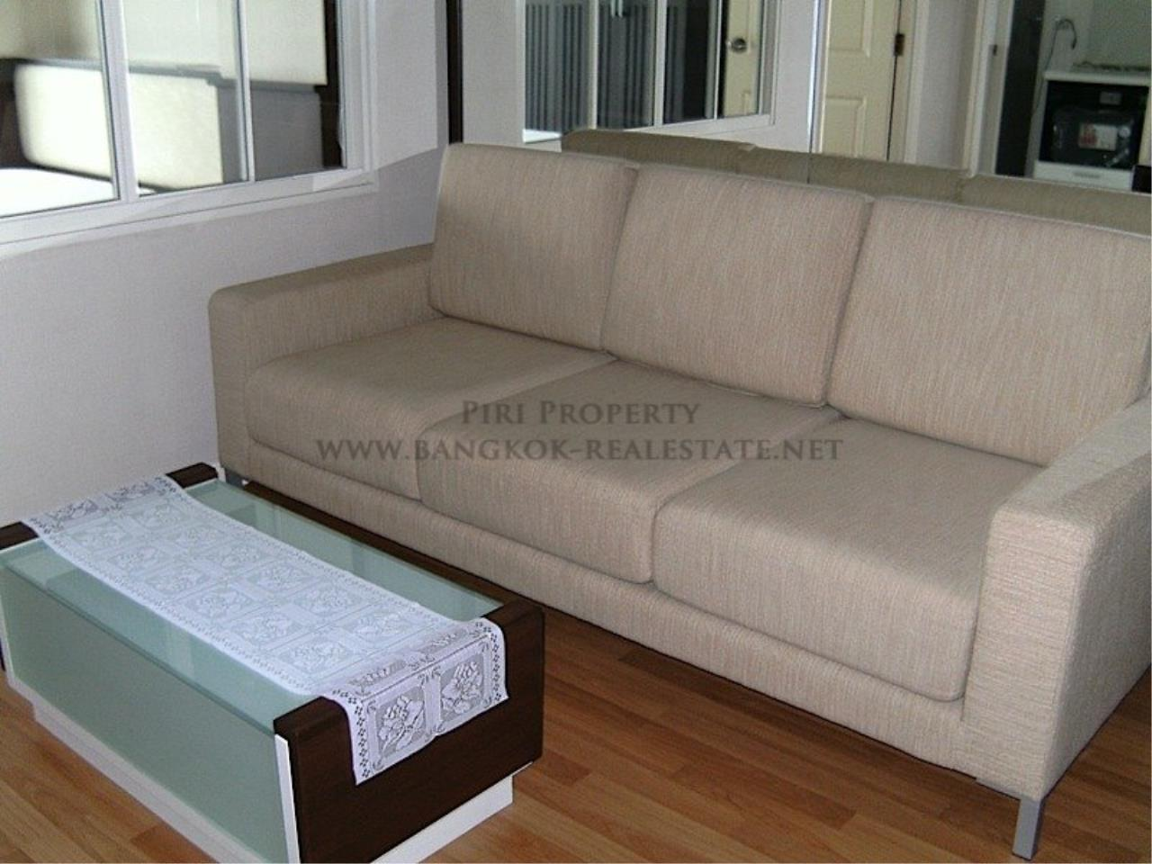 Piri Property Agency's LPN Narathiwat - One Bedroom on High Floor for Rent 1