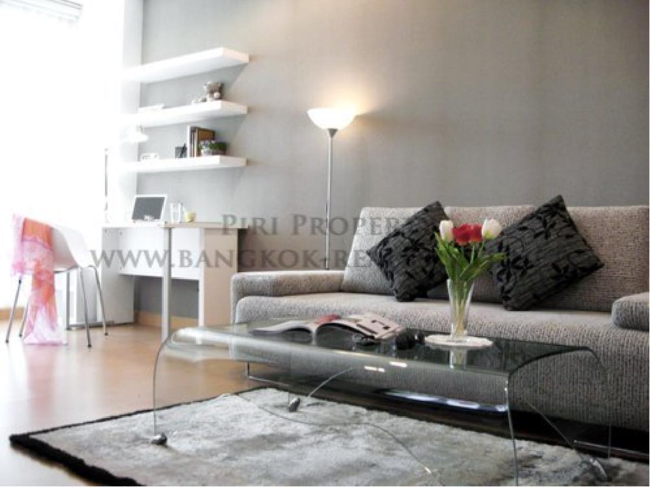 Piri Property Agency's The Address 42 - High Floor One Bedroom Condo for Rent 1