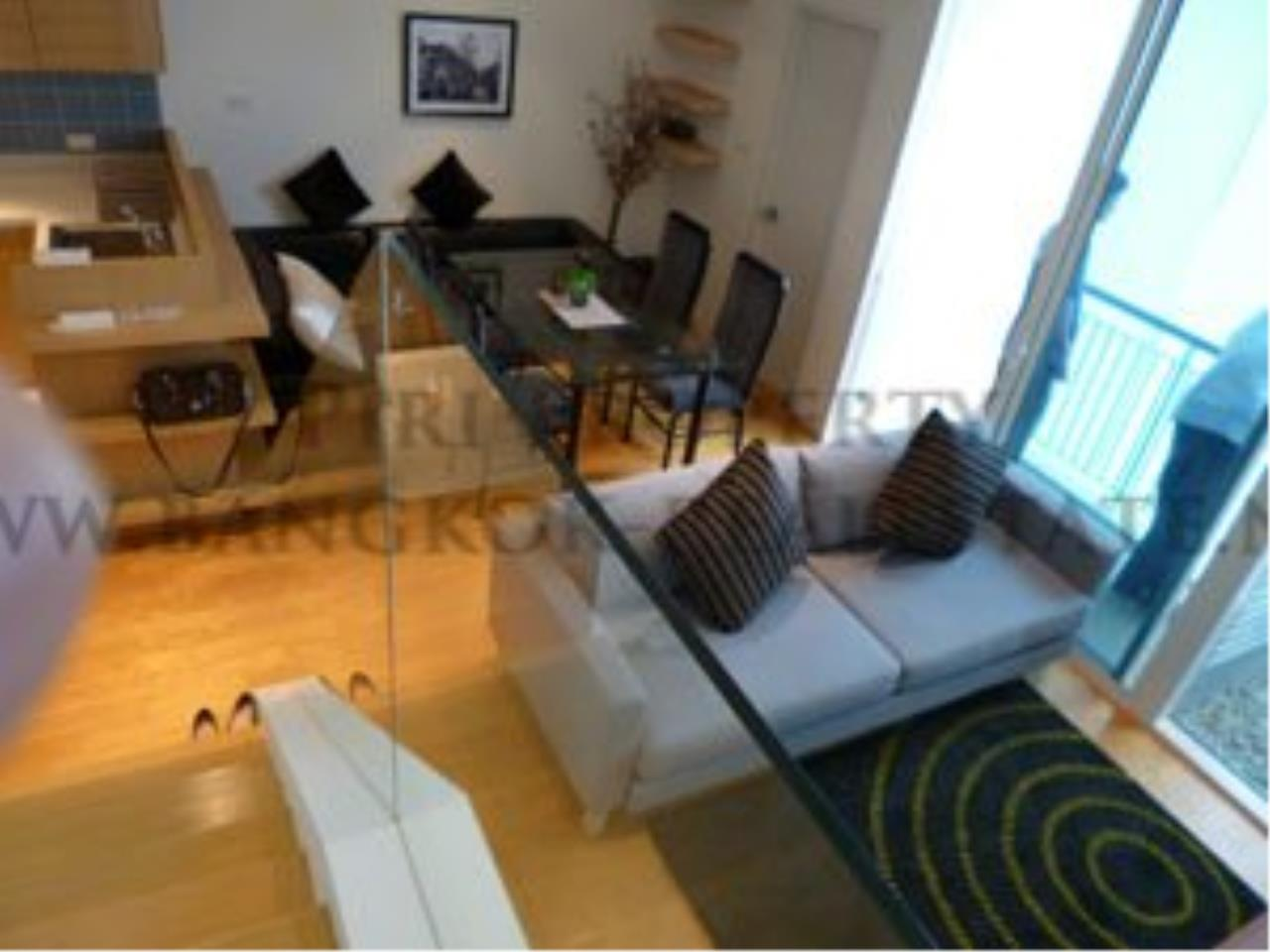 Piri Property Agency's Living on the 40th Floor - Villa Ratchatewi - 1 BR for rent 1