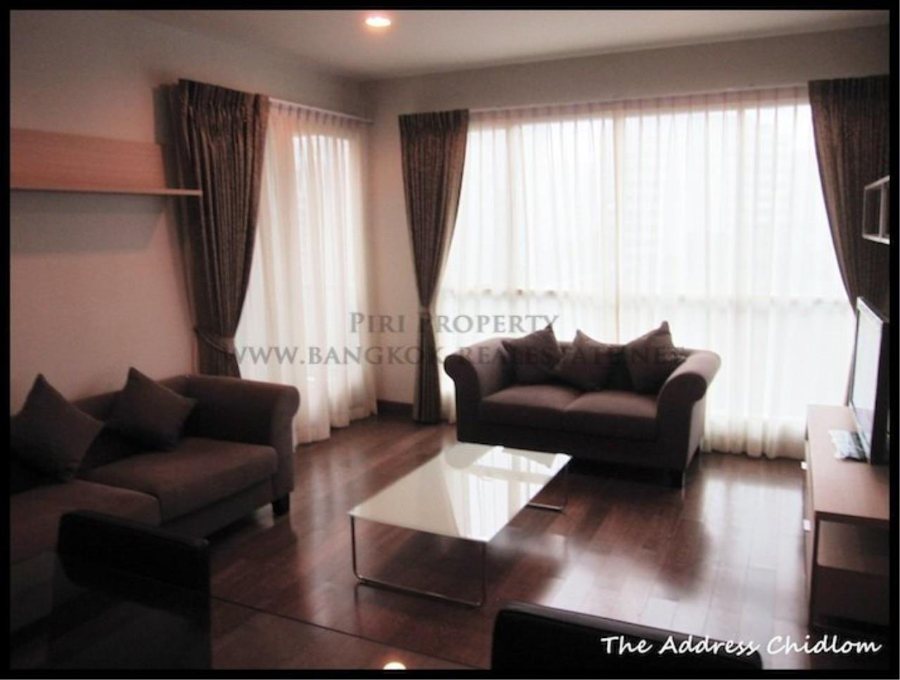 Piri Property Agency's Biggest available 2 Bedroom in The Address Chidlom - Fully furnished 1