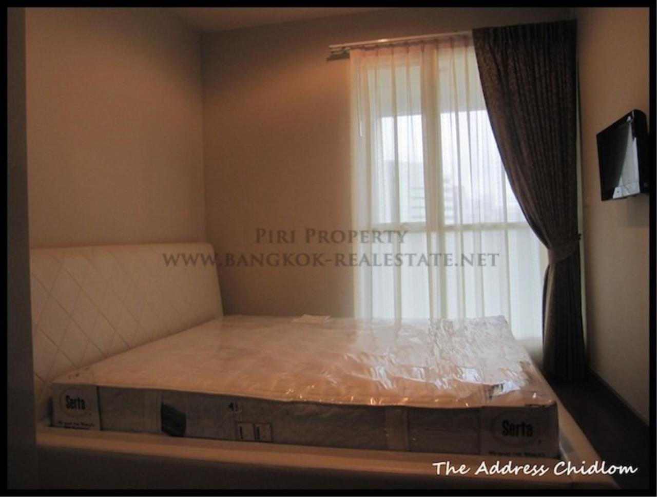 Piri Property Agency's Biggest available 2 Bedroom in The Address Chidlom - Fully furnished 4