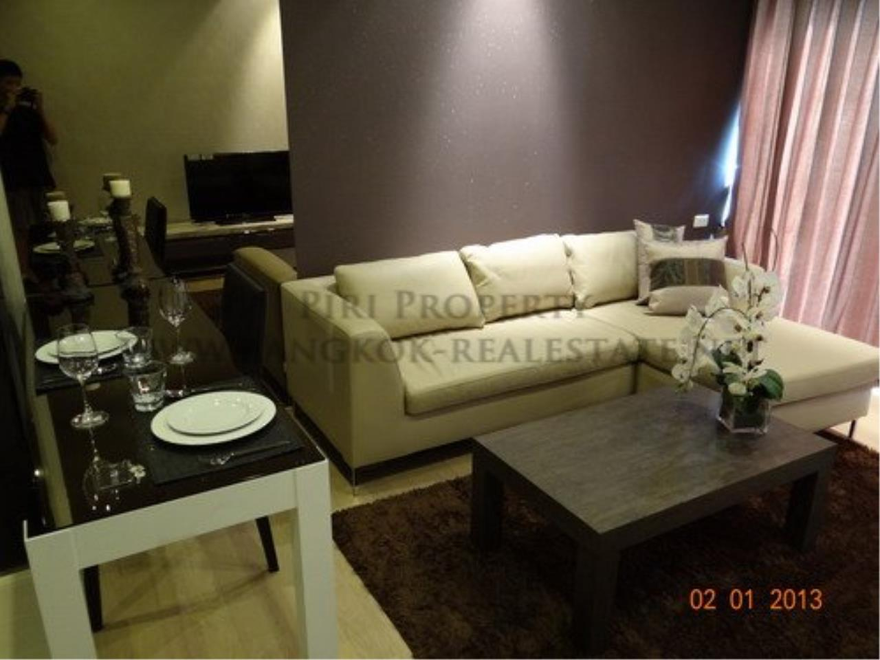 Piri Property Agency's 1 Bed - Noble Refine - Fully furnished for Rent near the Emporium 1