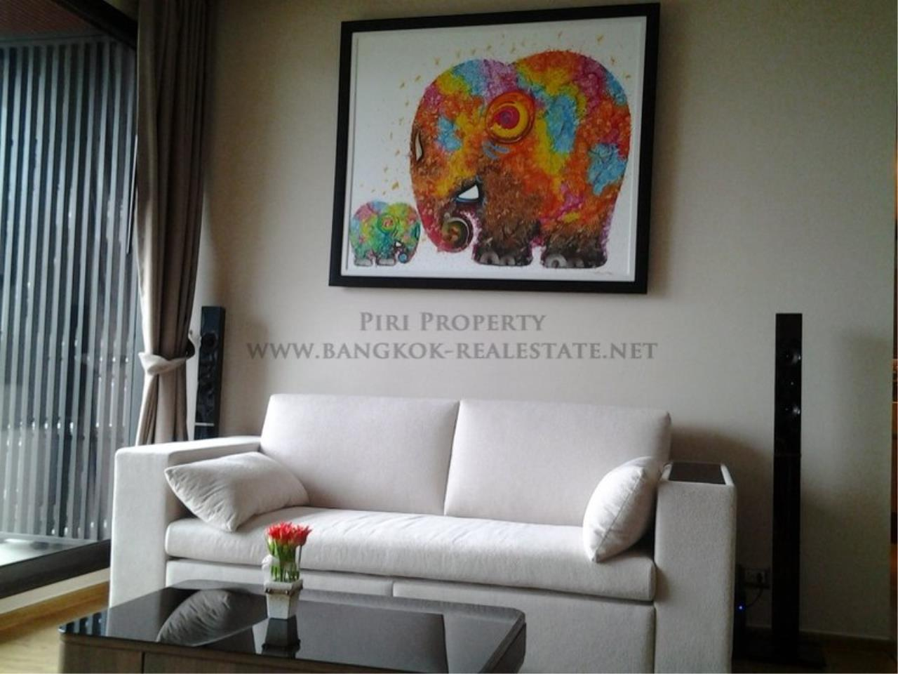 Piri Property Agency's Exclusive 2 Bedroom Condo in The Address Sathorn on 29th Floor 1