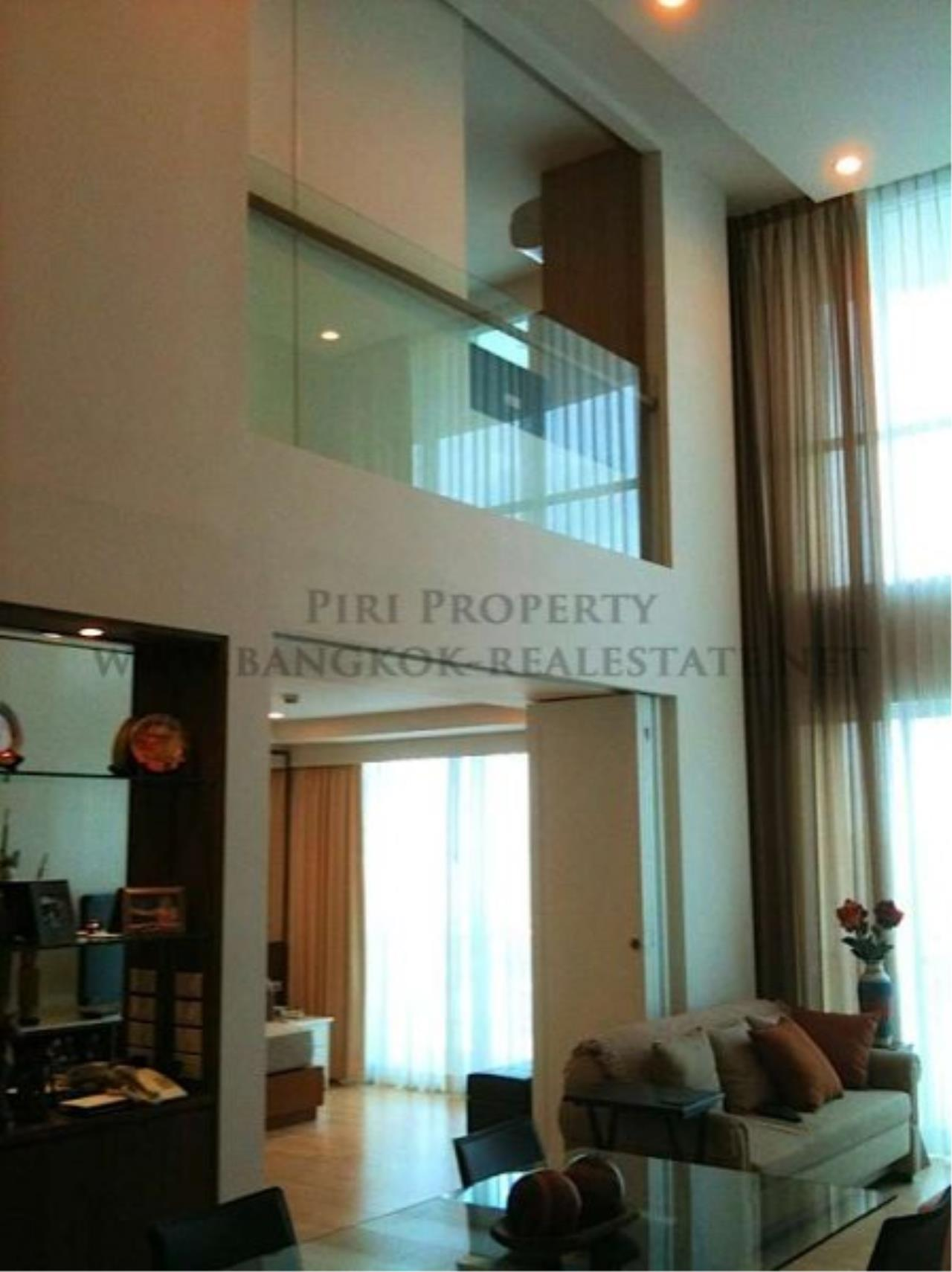 Piri Property Agency's 2 Bedroom Duplex Condo for Rent on Rajdamri Road - The Rajdamri Condo 1