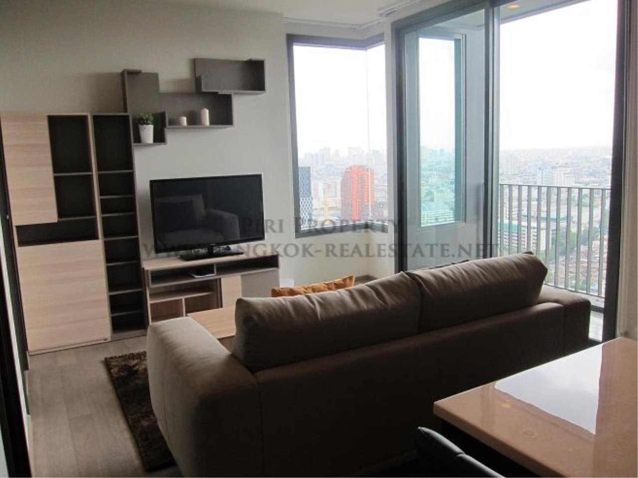 Piri Property Agency's Pyne by Sansiri Condo for Rent - 2 Bedroom on High Floor 1