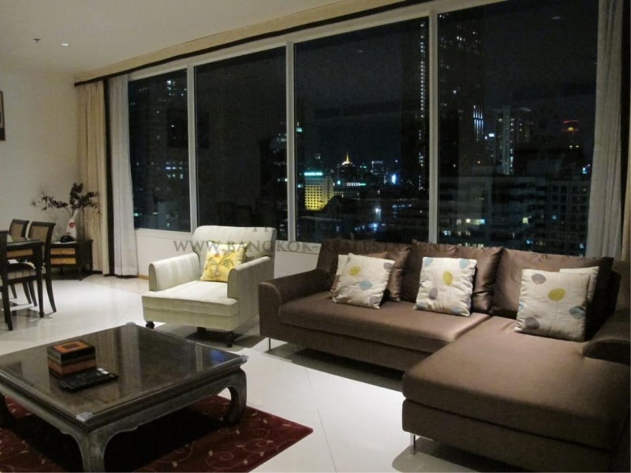 Piri Property Agency's Empire Place Sathorn - 2 Bedroom for Rent - Fully furnished Unit on High Floor 2