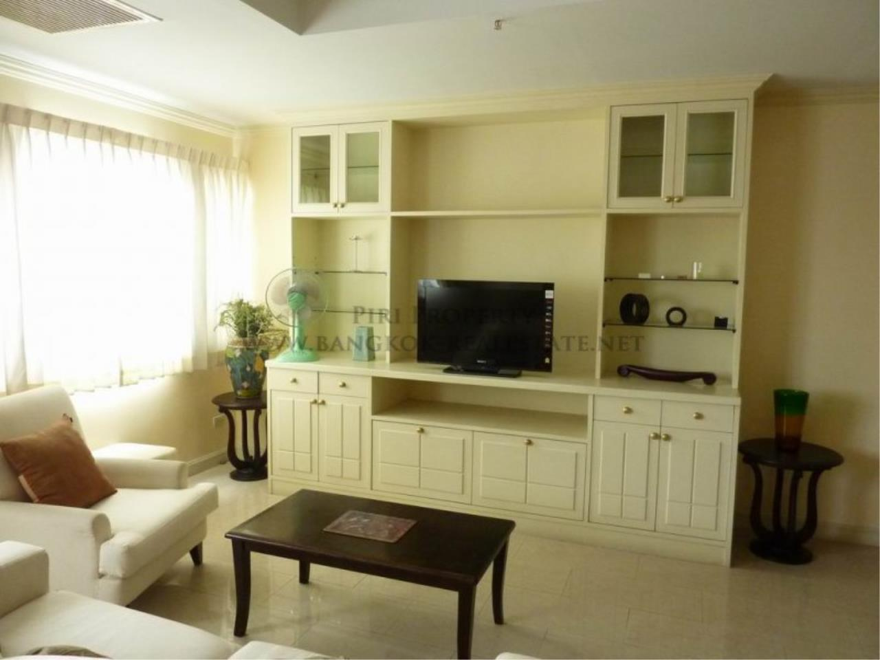 Piri Property Agency's Very spacious 2 Bedroom Condo in Ploenchit for Rent - Wittayu Complex 5