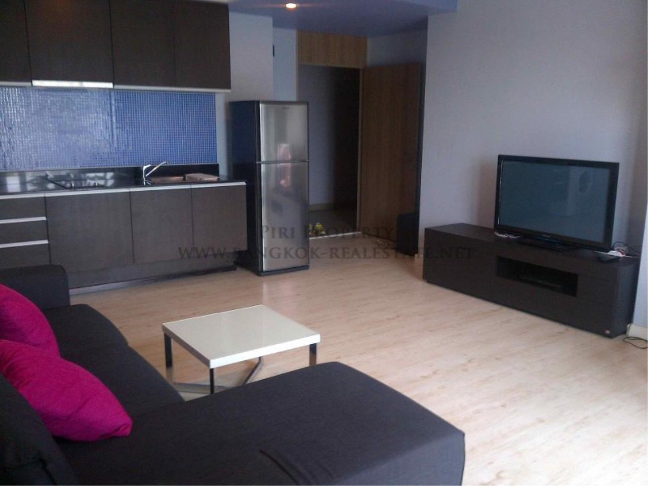 Piri Property Agency's Noble Reflex Condo for Rent - Modern And Spacious 68 SQM 1 Bedroom 2