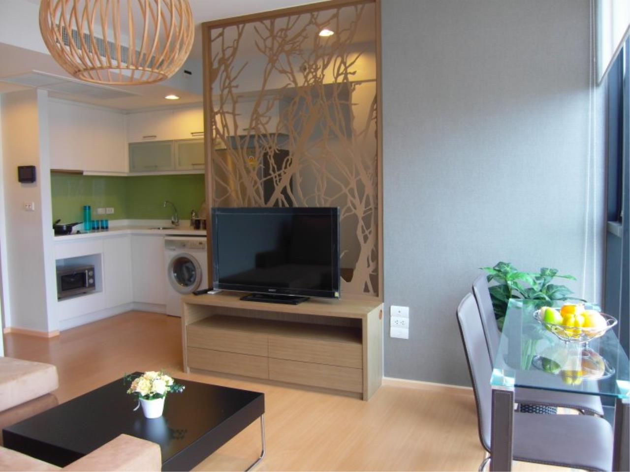 Piri Property Agency's Cozy 1 Bedroom in the Alcove Thonglor 10 building for rent on high floor 2