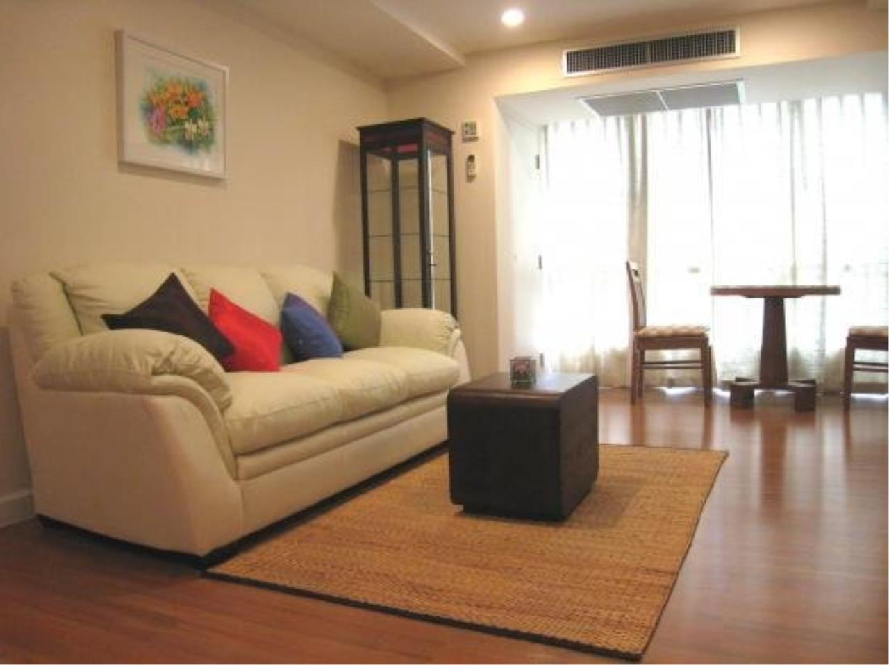 Piri Property Agency's Modern 2 Bedrooms in the The Trendy Condo for rent on high floor 1