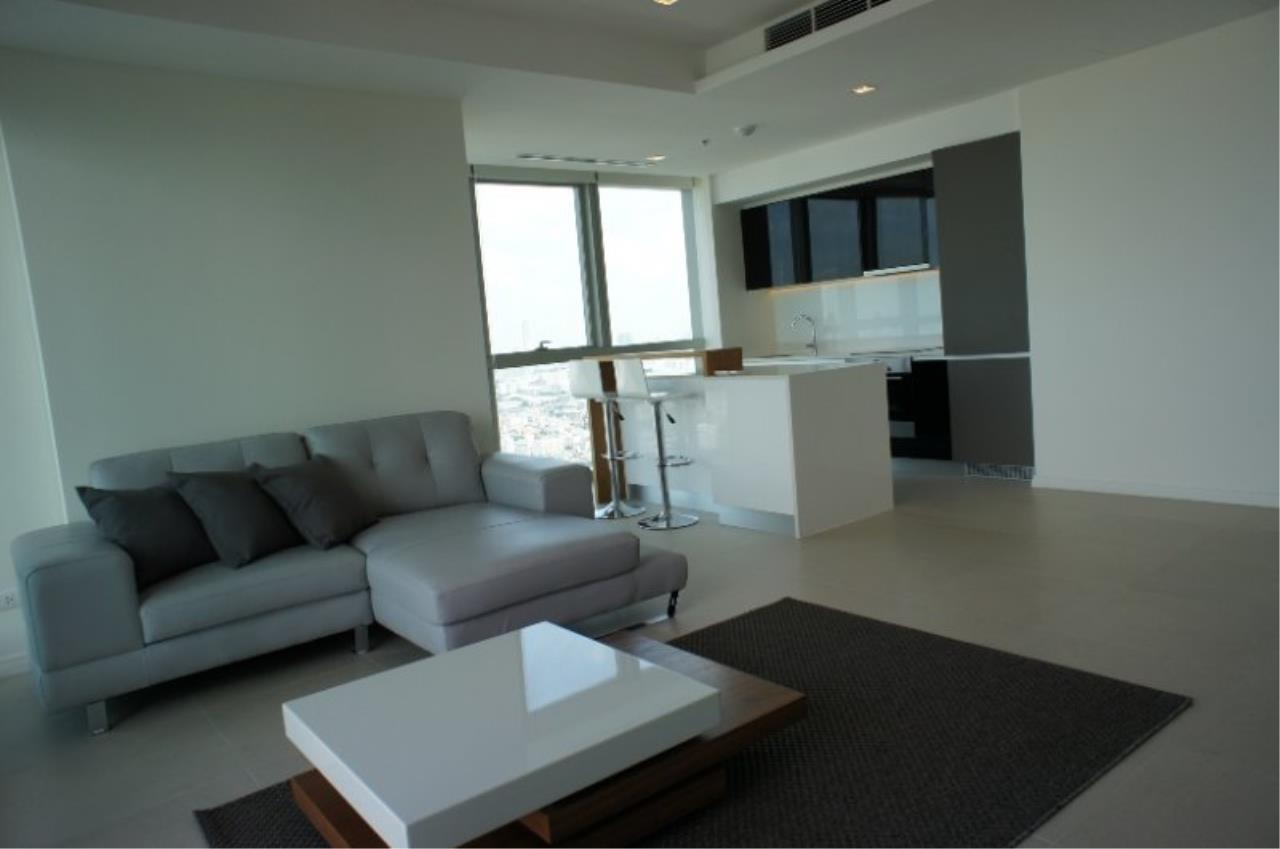 Piri Property Agency's 2 Bedrooms in the The River Condo for rent on high floor - Amazing River Views 5