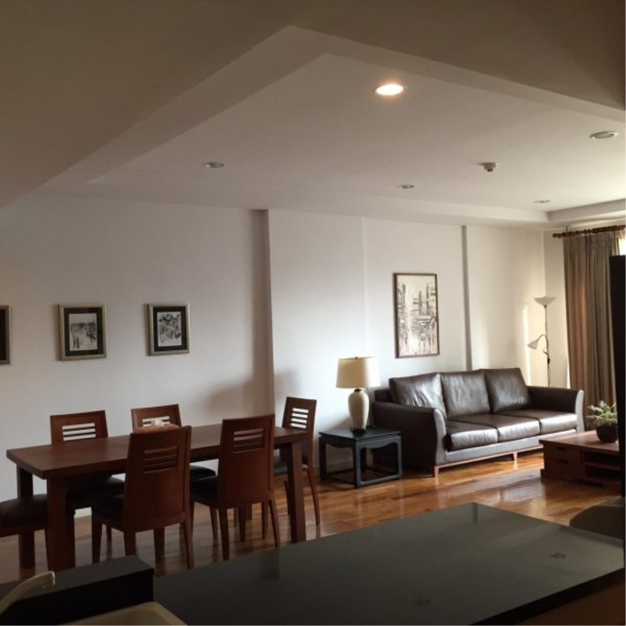Piri Property Agency's Modern 2 Bedrooms in the Baan Nunthasiri Condo for sale on mid floor 2