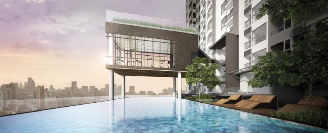 Piri Property Agency's Cozy 1 Bedroom in the Rhythm Asoke 1 Condo for sale on high floor 3