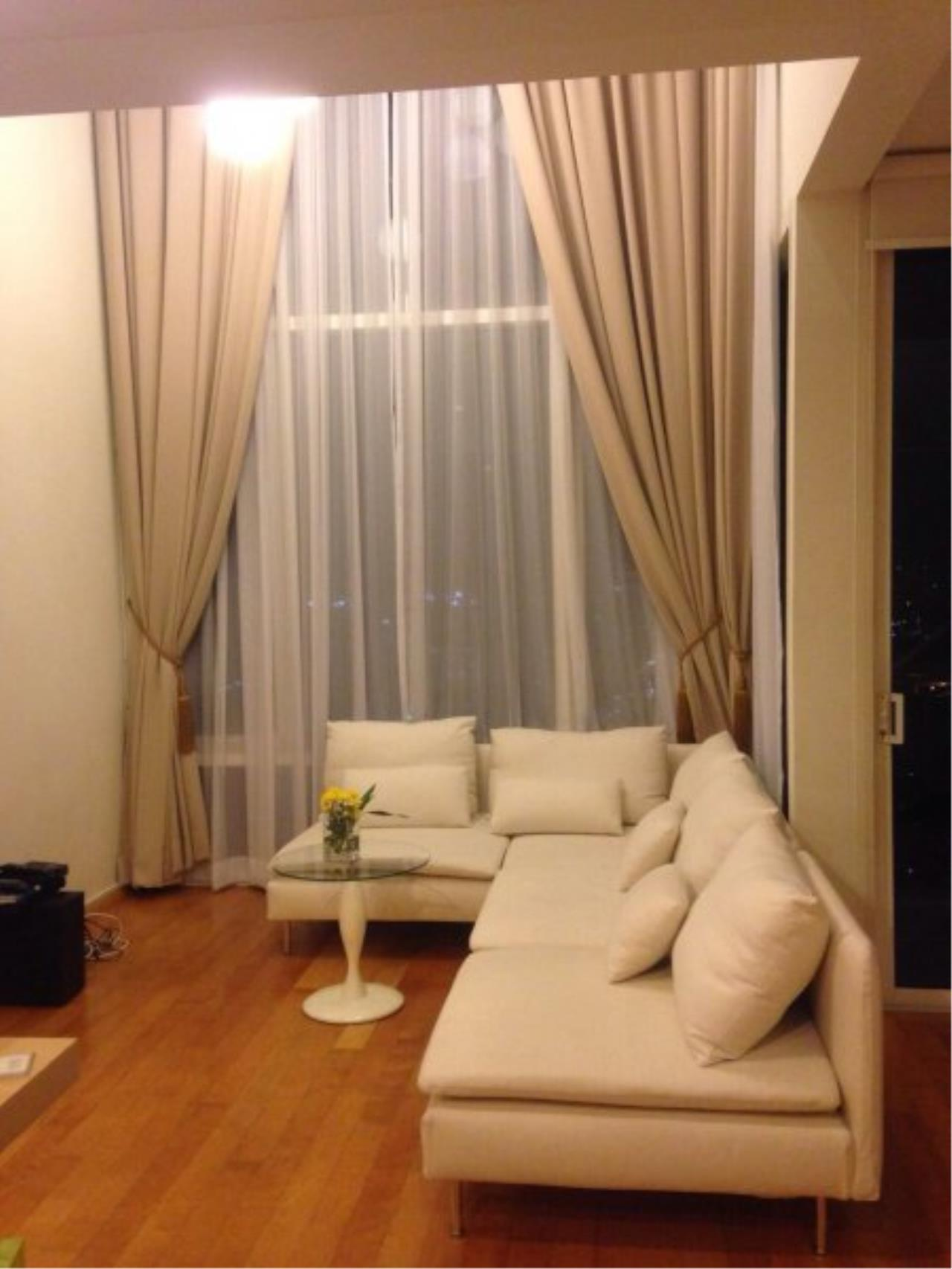 Piri Property Agency's Duplex 1 Bedroom in the Villa Ratchatewi Condo for rent on high floor 2