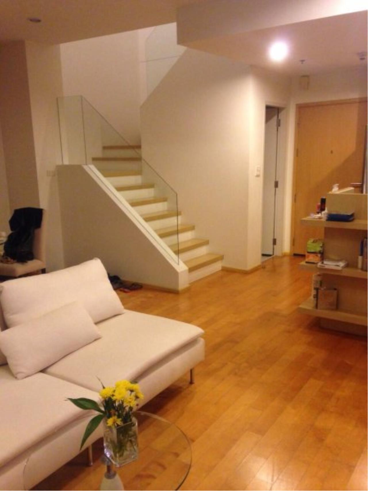 Piri Property Agency's Duplex 1 Bedroom in the Villa Ratchatewi Condo for rent on high floor 3
