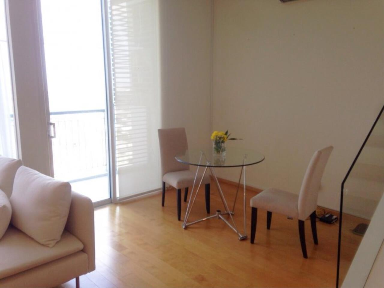 Piri Property Agency's Duplex 1 Bedroom in the Villa Ratchatewi Condo for rent on high floor 5
