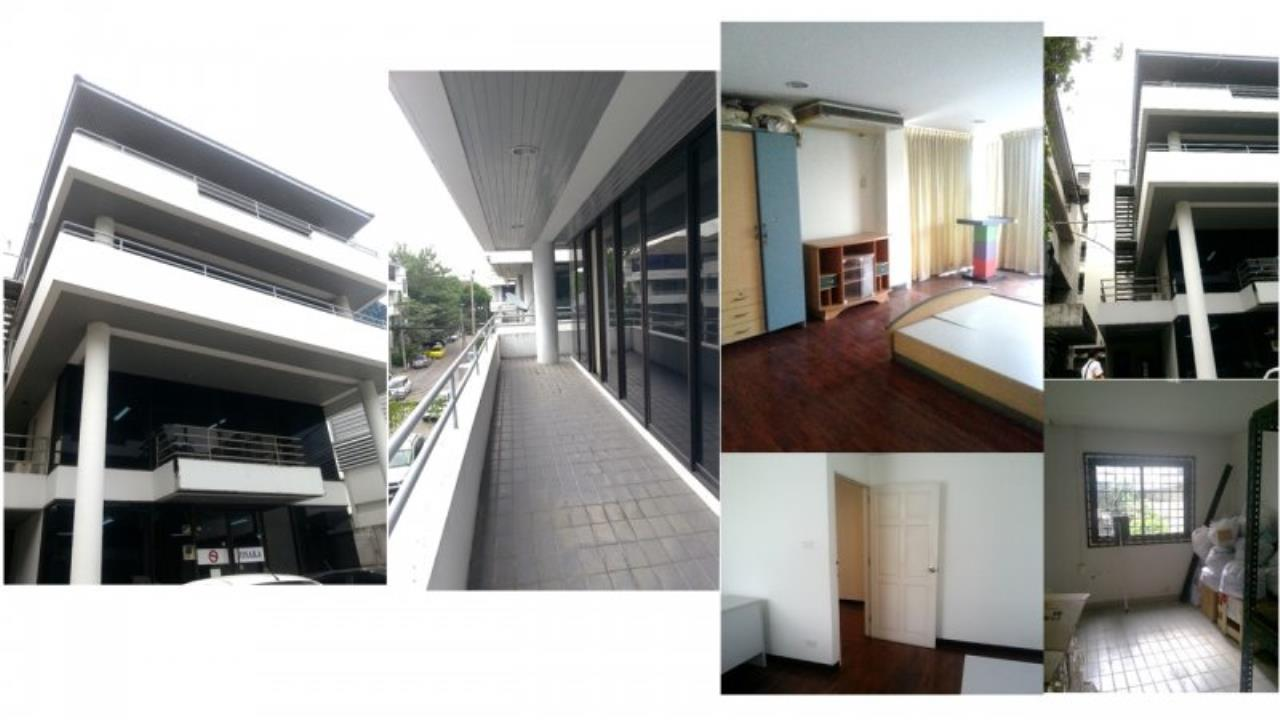 Piri Property Agency's Huge 5 Bedrooms in the Home Office Onnut Townhouse for rent on mid floor 12