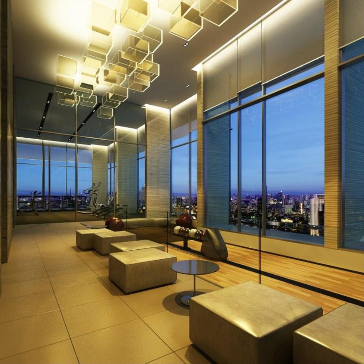 Piri Property Agency's Studio bedrooms Condo For Rent Absolute Urbano Sathorn-Taksin 3