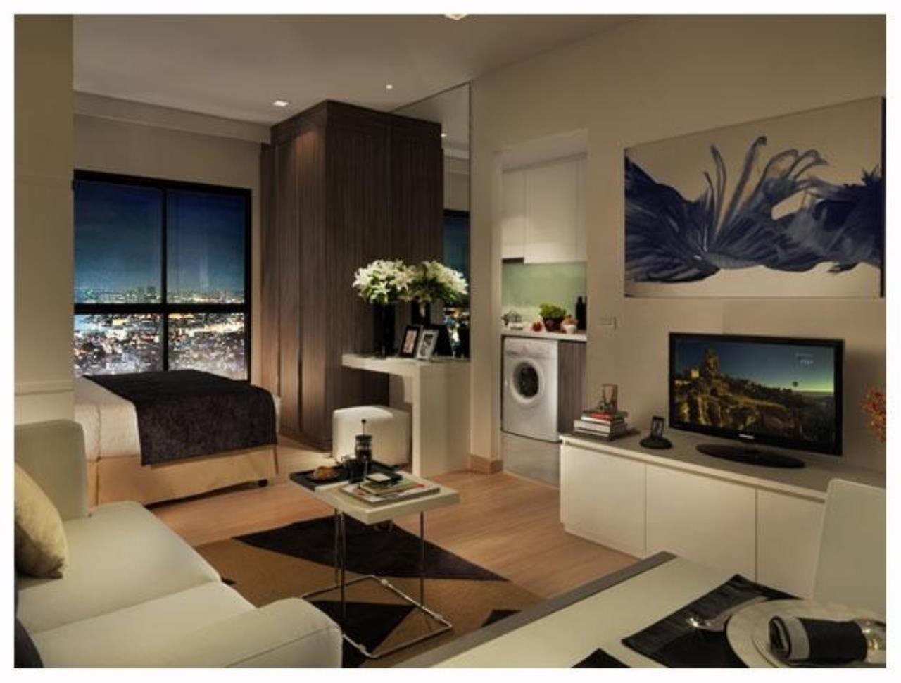 Piri Property Agency's Studio bedrooms Condo For Rent Absolute Urbano Sathorn-Taksin 2