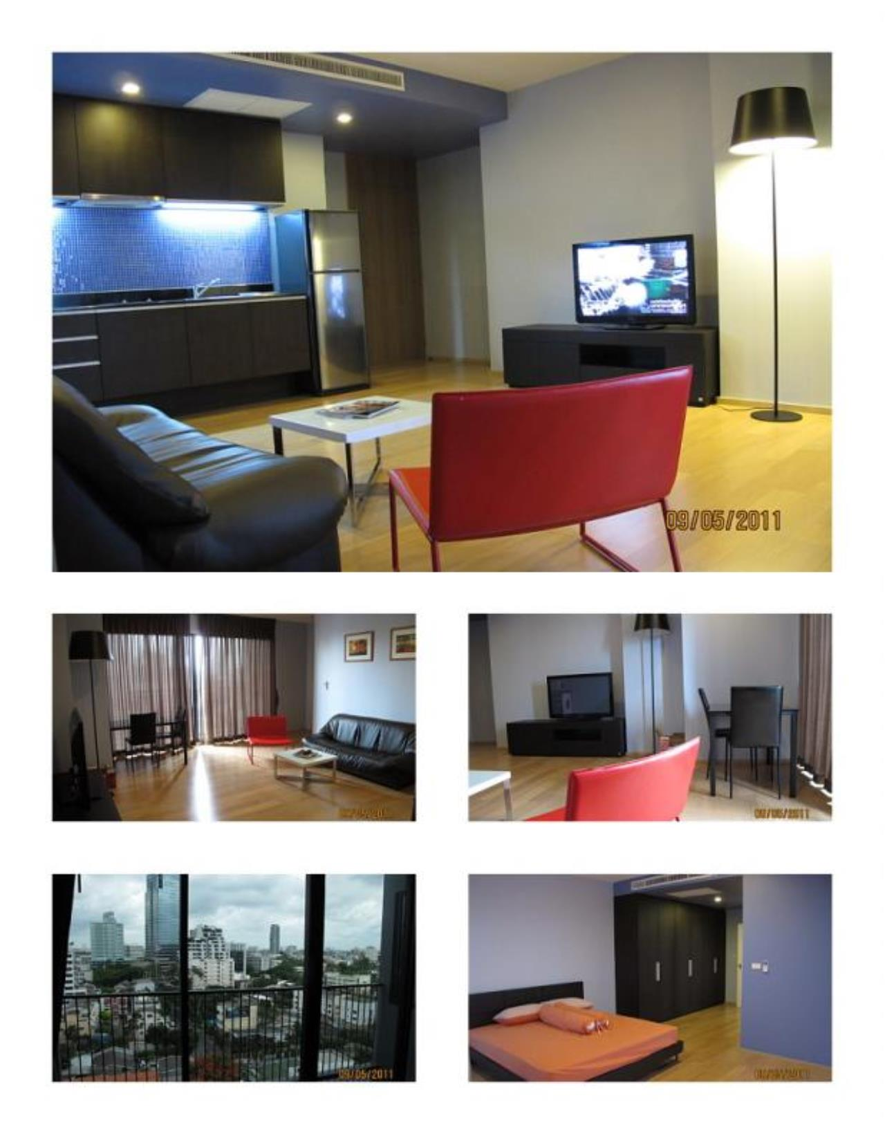 Piri Property Agency's one bedroom  For Rent Noble Reflex 1