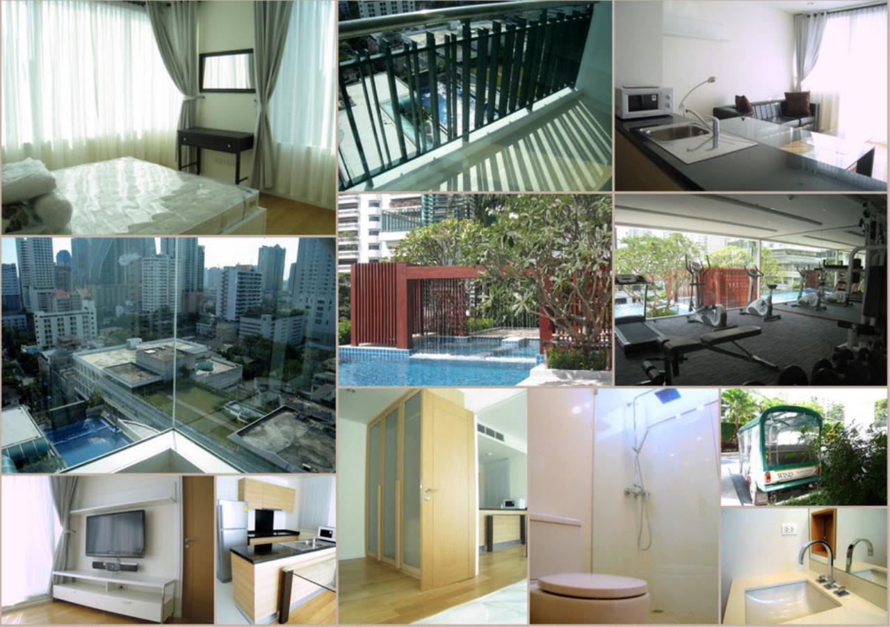Piri Property Agency's one bedroom  For Rent Wind Sukhumvit 23 2