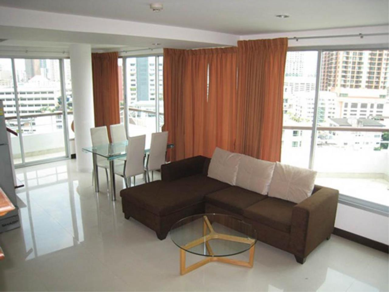 Piri Property Agency's 3 bedrooms  For Rent P.W.T Mansion 1
