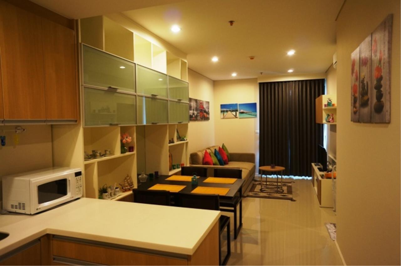 Piri Property Agency's one bedroom  For Rent Villa Asoke 1