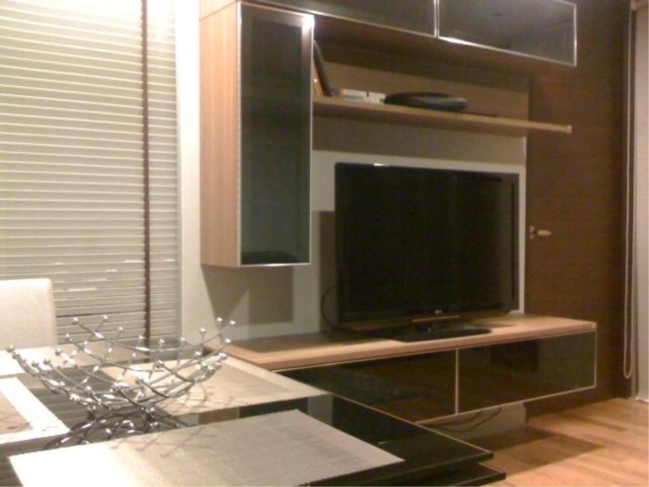 Piri Property Agency's one bedroom  For Rent Quad Silom 1
