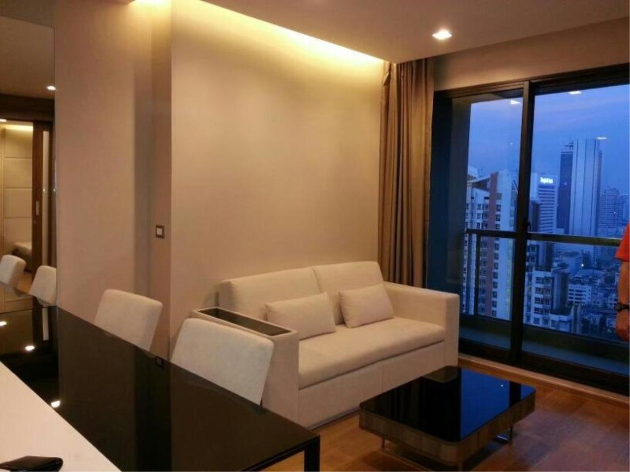Piri Property Agency's one bedroom  For Rent The Address Sathorn 2