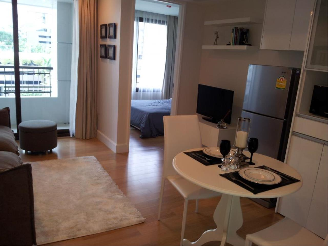 Piri Property Agency's one bedroom  For Rent Collezio Sathorn-Pipat 1