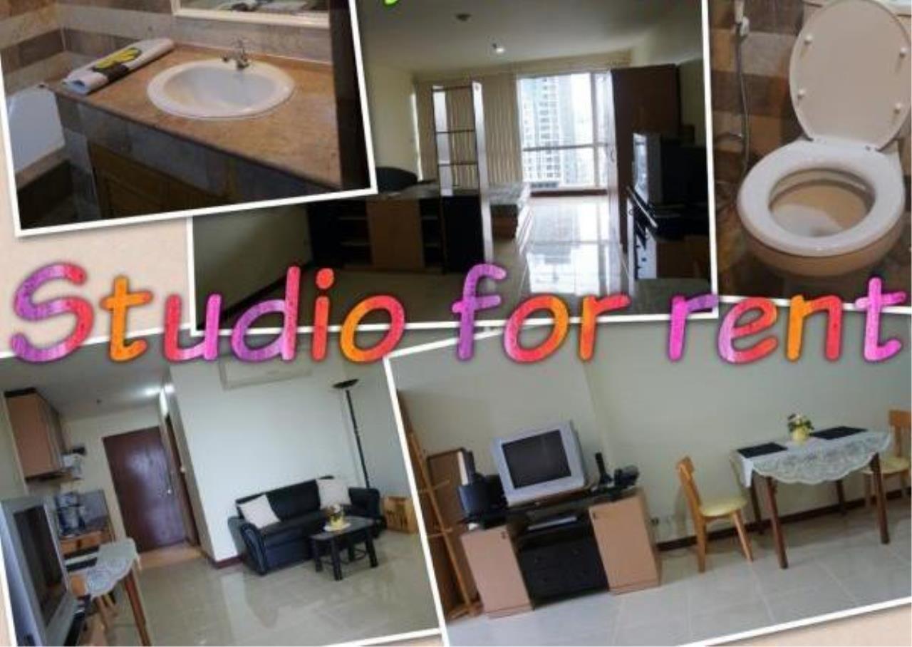 Piri Property Agency's Studio bedrooms  For Rent Sukhumvit Suite 1