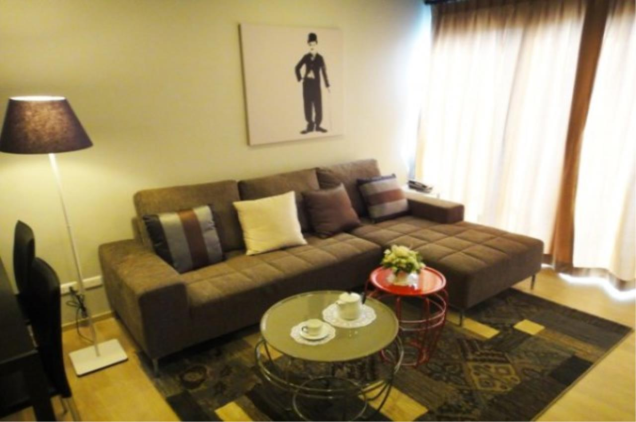 Piri Property Agency's one bedroom  For Rent Noble Refine 1