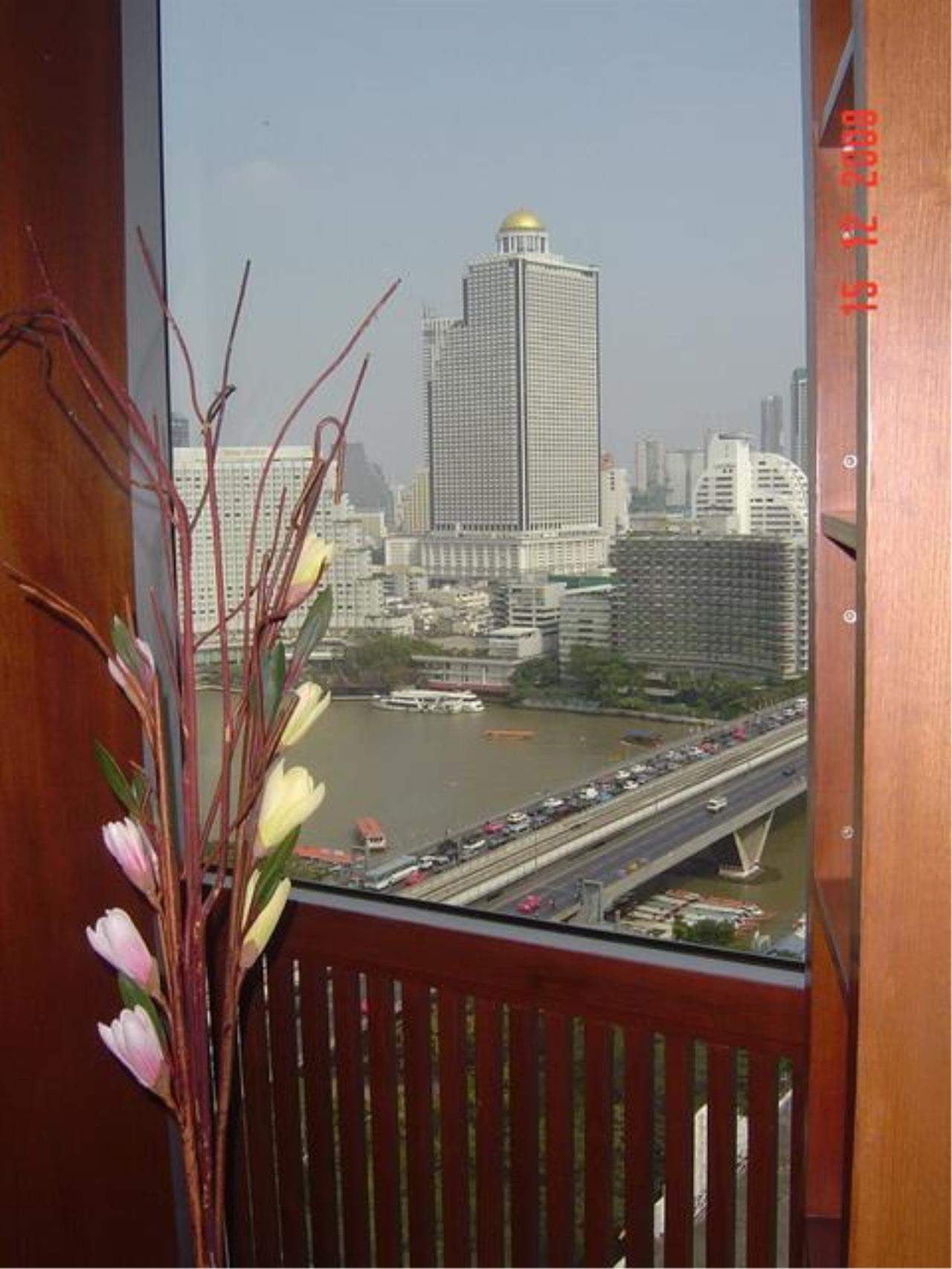 Piri Property Agency's 3 bedrooms  For Rent Baan Sathorn Chaophraya 12