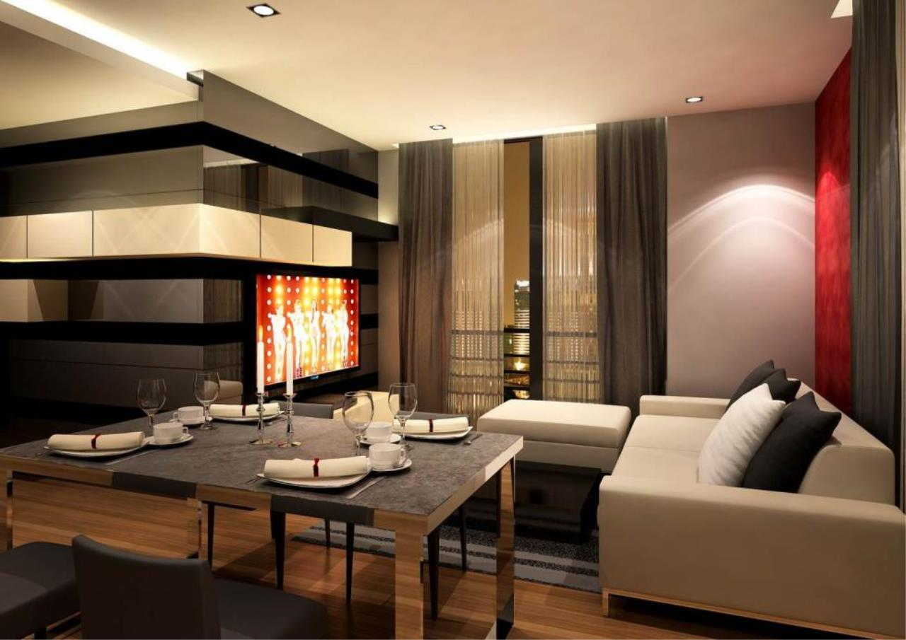 Piri Property Agency's 2 bedrooms  For Rent Quattro Thonglor 1
