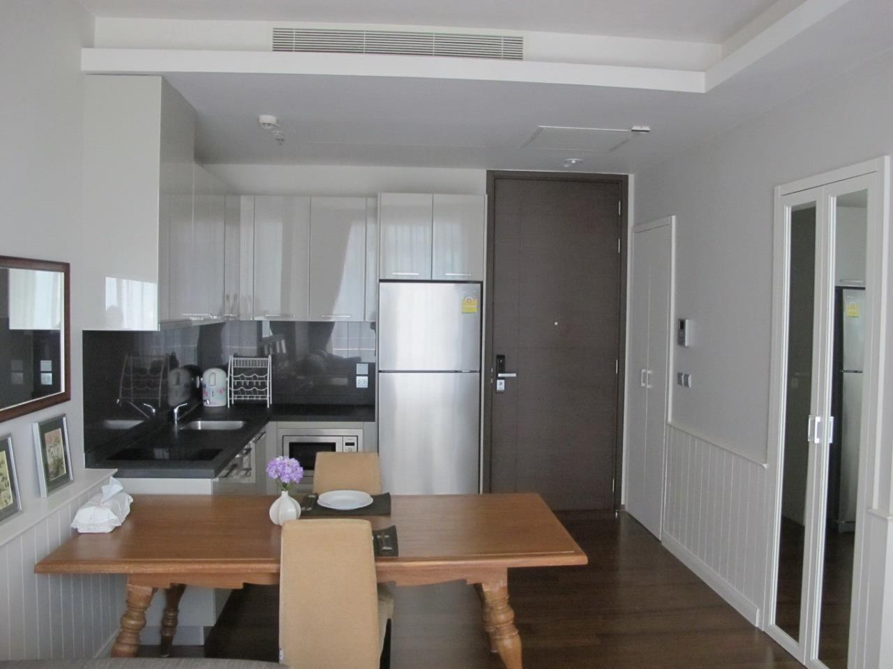 Piri Property Agency's one bedroom  For Rent Quattro Thonglor 6