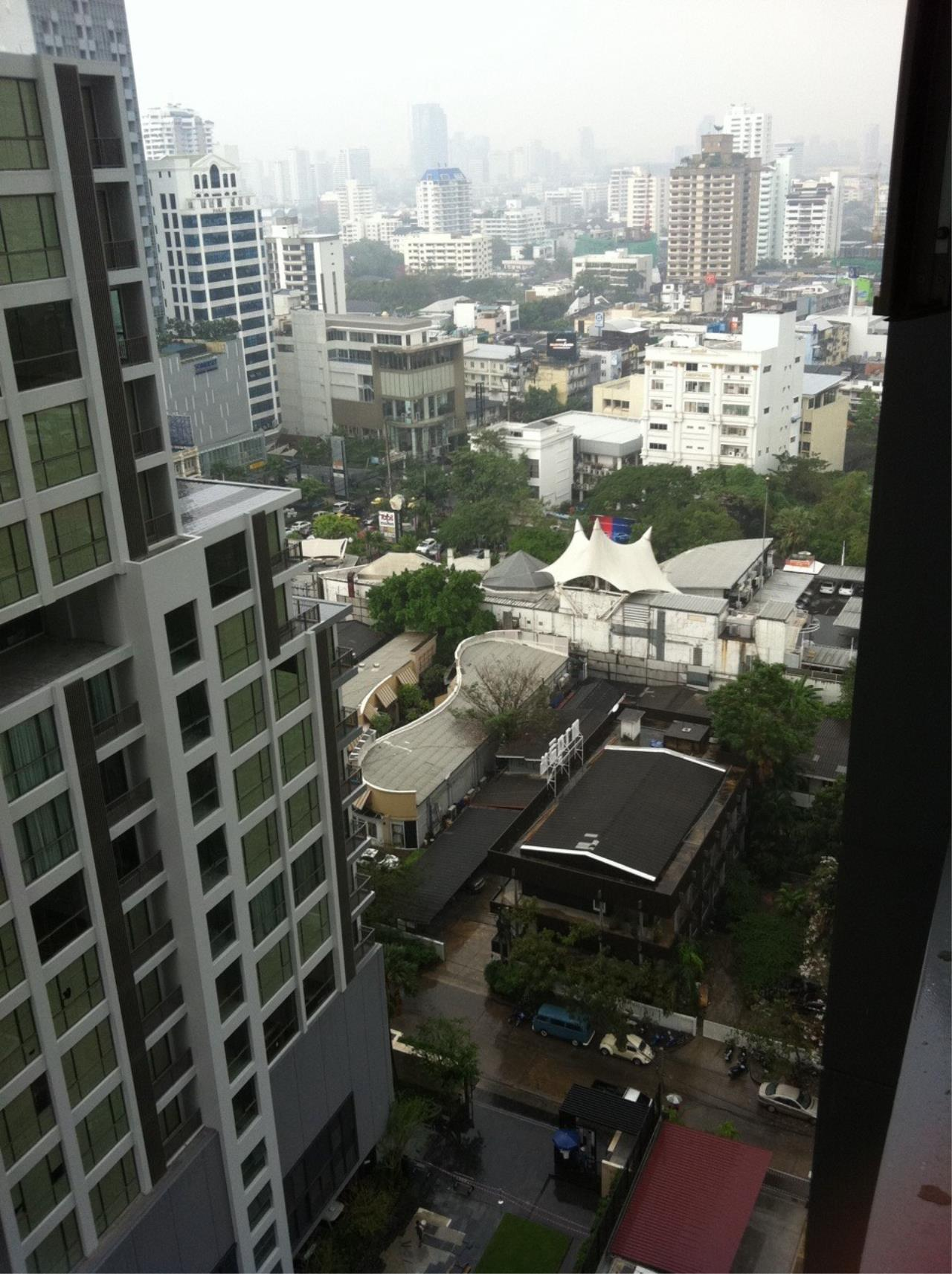 Piri Property Agency's one bedroom  For Rent Quattro Thonglor 14