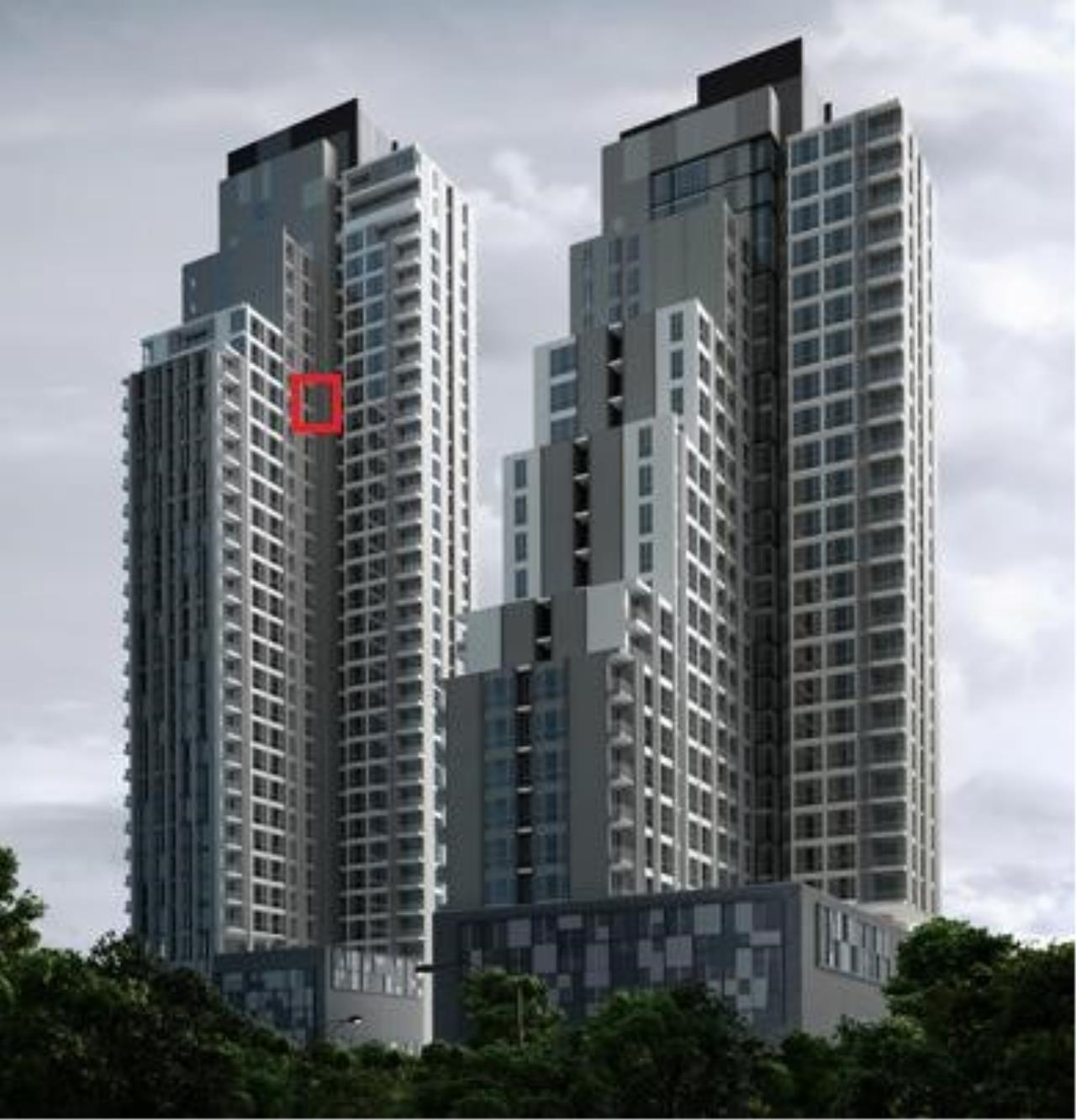 Piri Property Agency's one bedroom  For Rent Quattro Thonglor 13