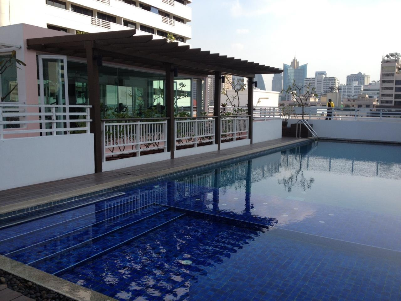 Piri Property Agency's one bedroom  For Rent Baan Siri Soi 13 9