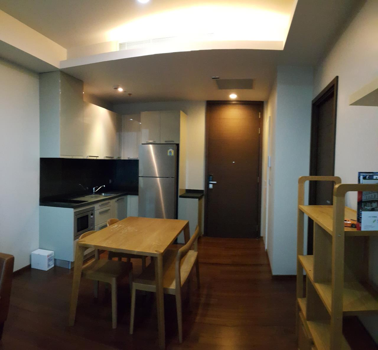 Piri Property Agency's one bedroom  For Rent Quattro Thonglor 4