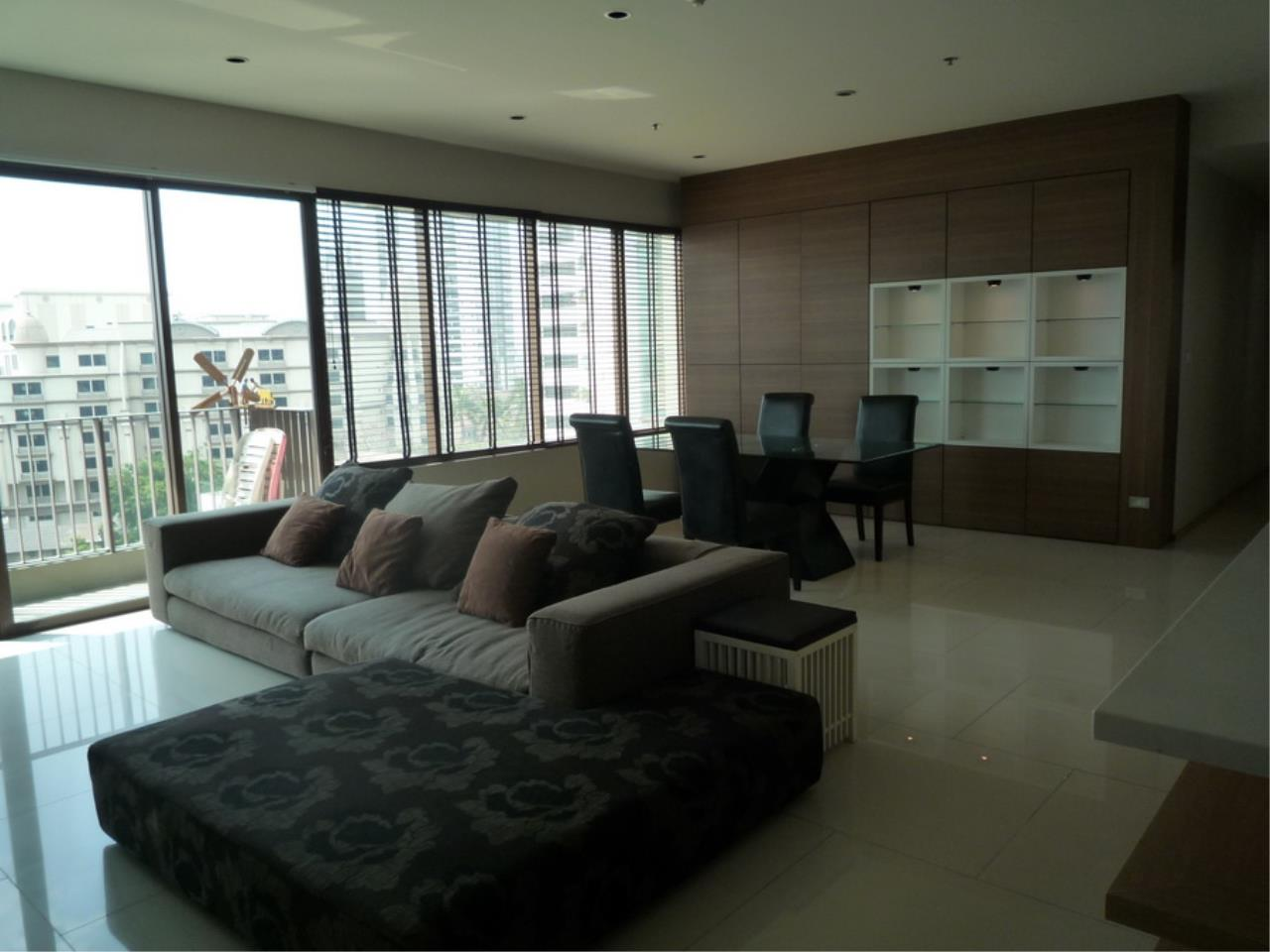 Piri Property Agency's 3 bedrooms Condominium  on 8 floor For Rent 3 6