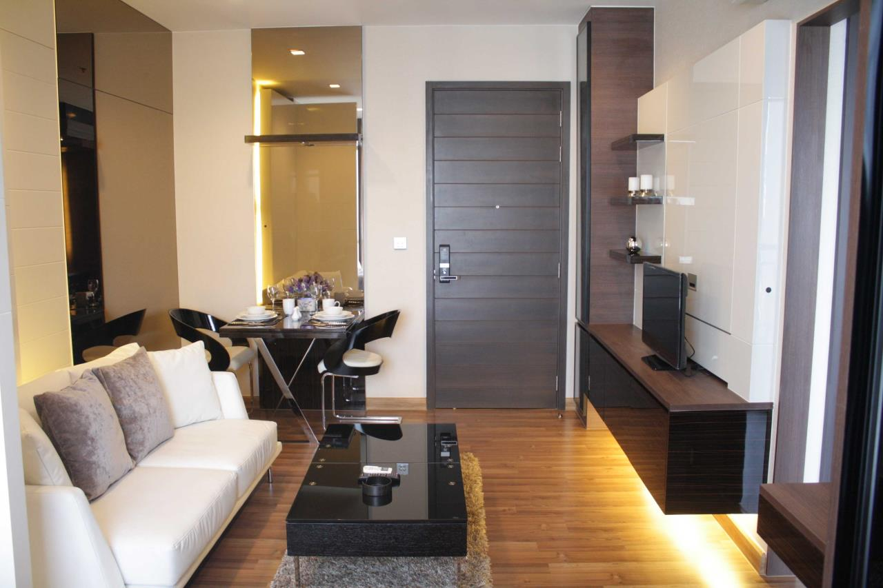 Piri Property Agency's Studio bedrooms Condominium  on 24 floor For Rent Studio 3