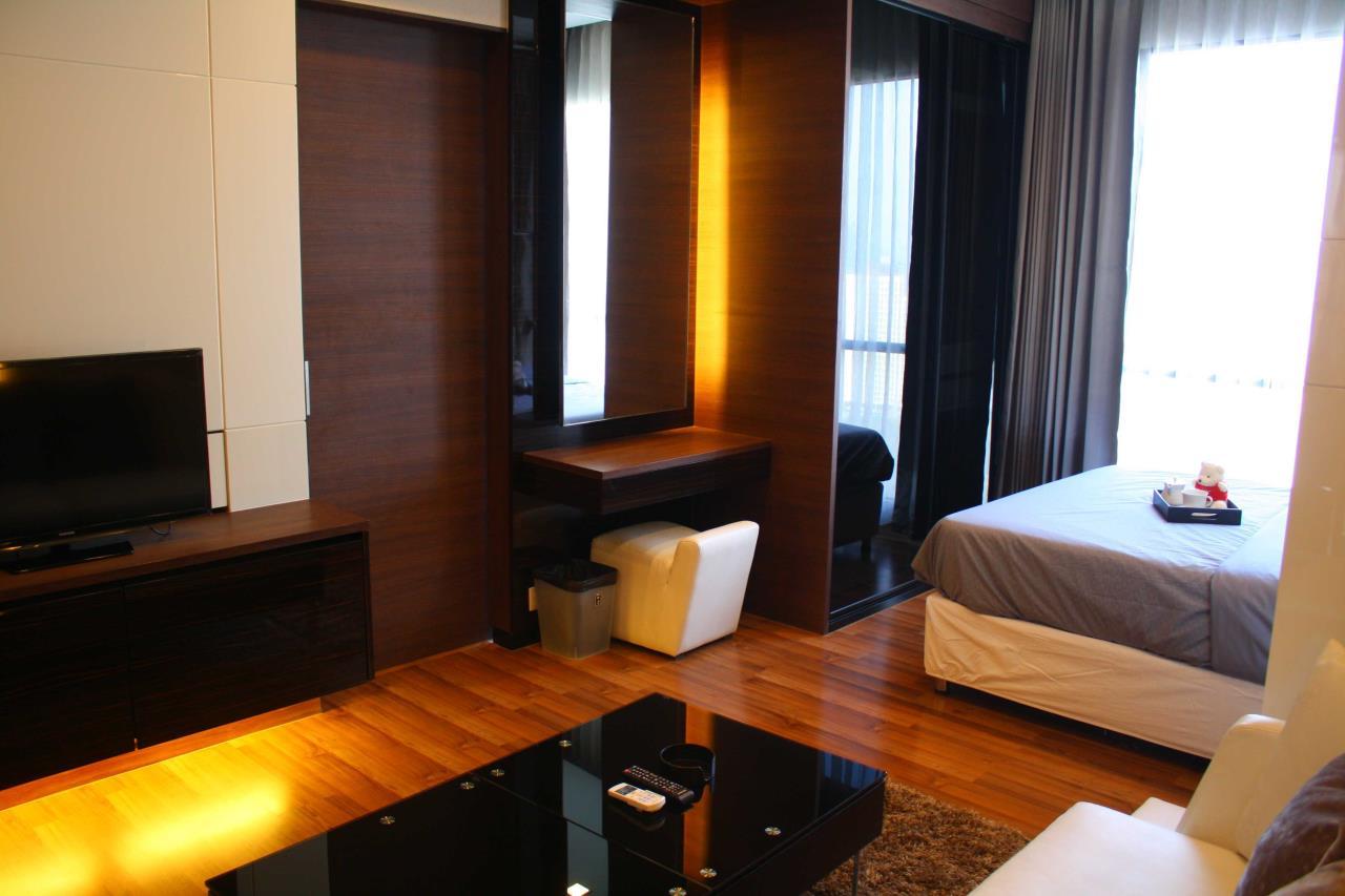 Piri Property Agency's Studio bedrooms Condominium  on 24 floor For Rent Studio 5