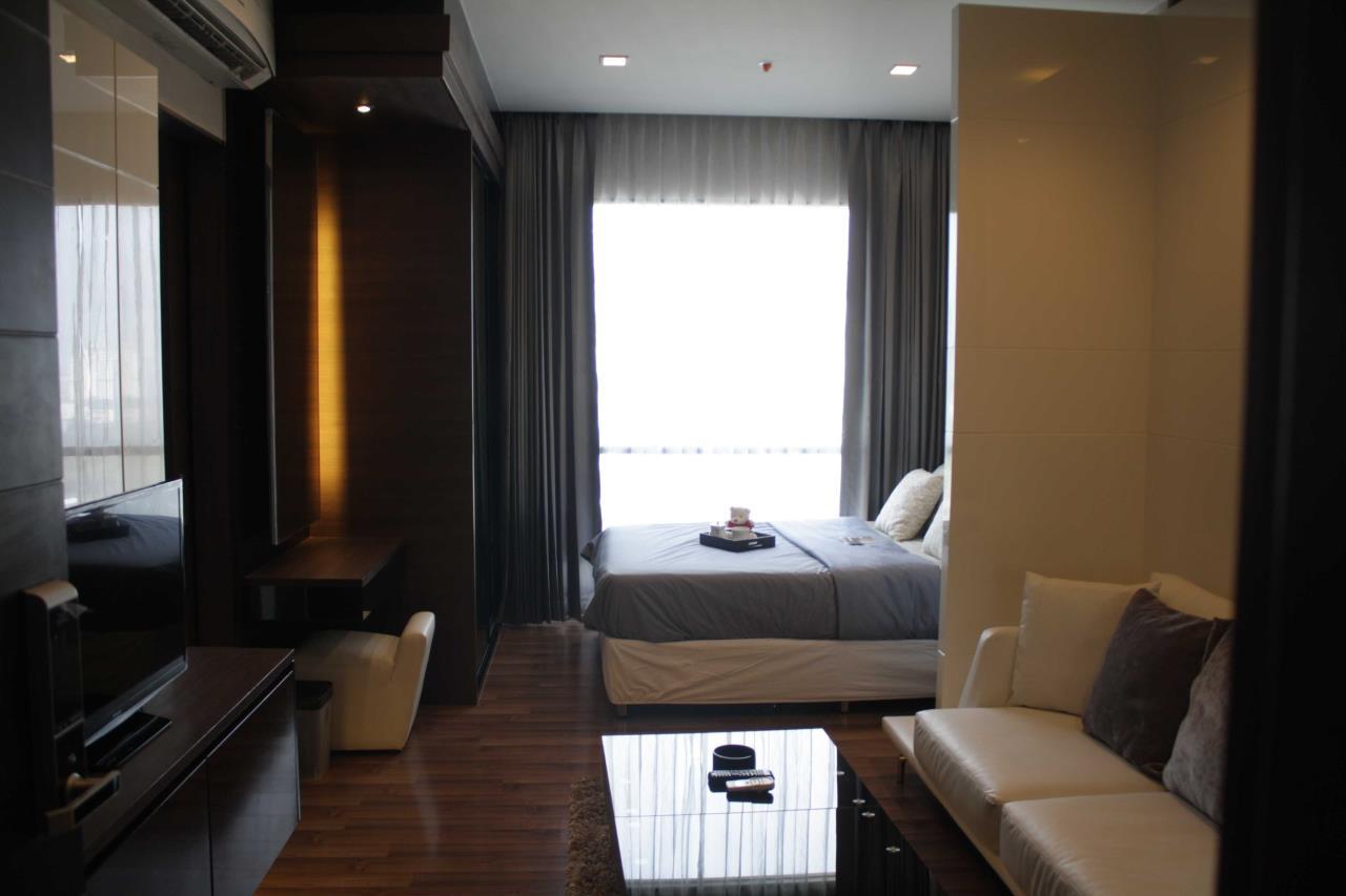 Piri Property Agency's Studio bedrooms Condominium  on 24 floor For Rent Studio 6