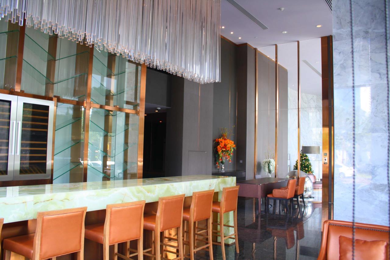 Piri Property Agency's Studio bedrooms Condominium  on 24 floor For Rent Studio 9