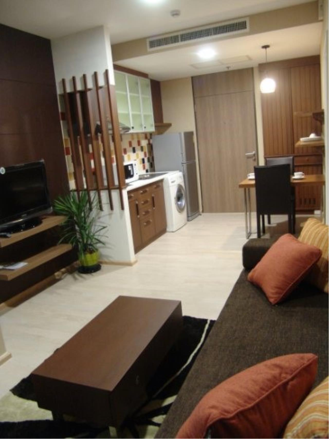 Piri Property Agency's one bedroom Condominium  on 20 floor For Rent 1 2